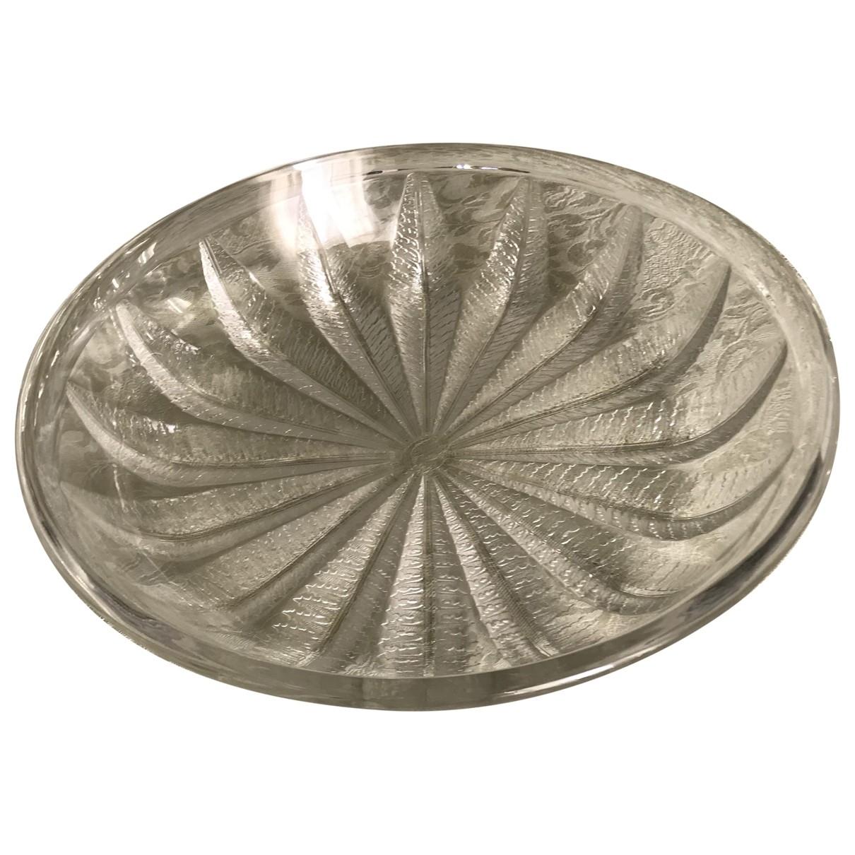 Lalique \N Tischkultur in  Weiss Kristall