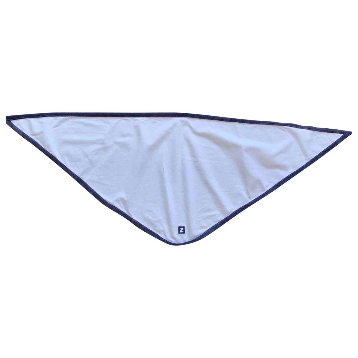 Fendi \N White Cotton scarf for Women \N
