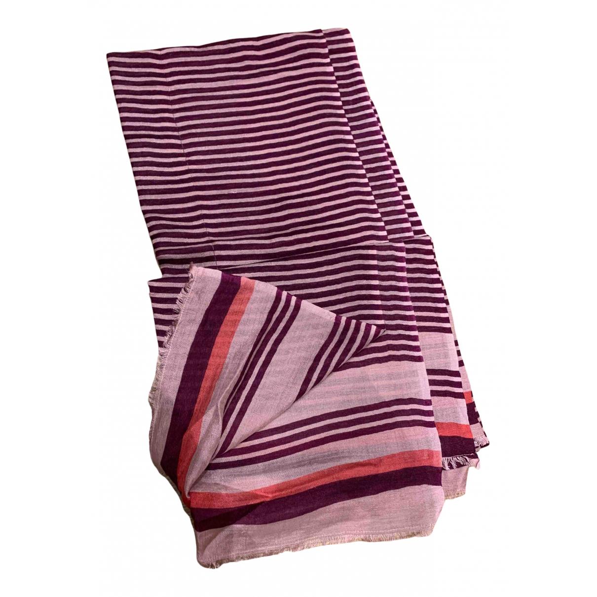 Beck Sonder Gaard N Pink Silk scarf for Women N