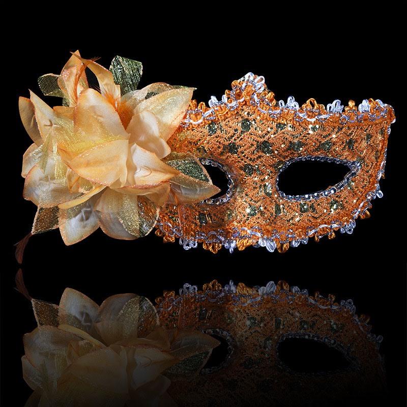 Ericdress Halloween Party Rhinestone Mask
