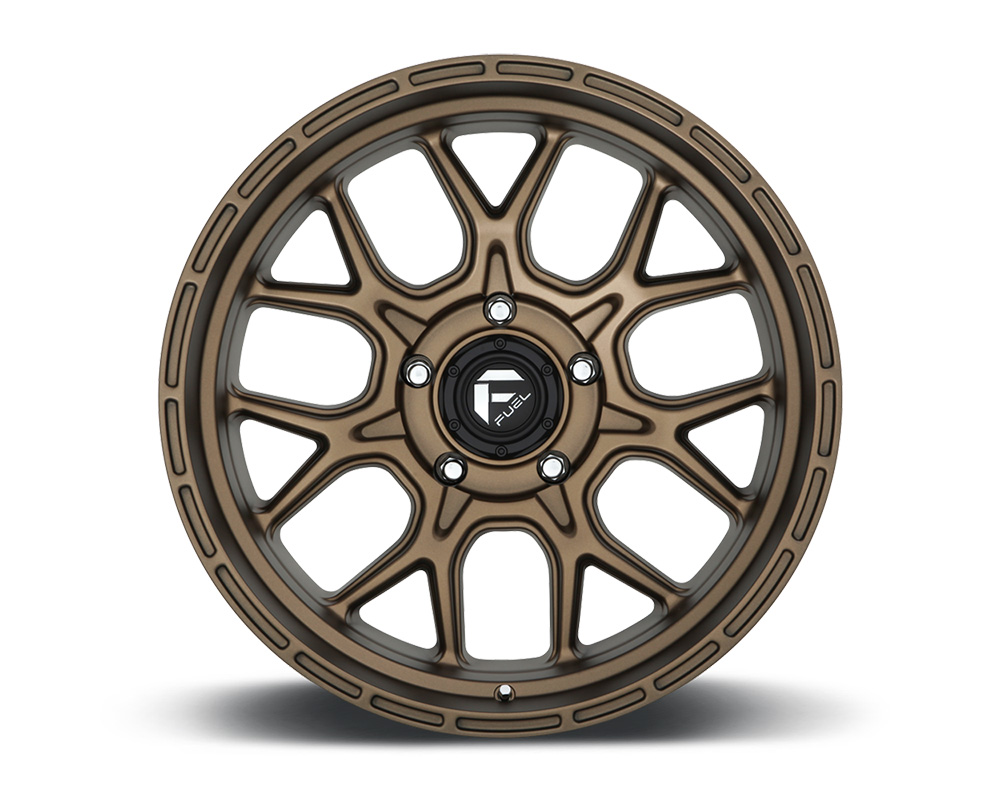 Fuel D671 Tech Bronze 1-Piece Cast Wheel 20x10 5x127 -18mm