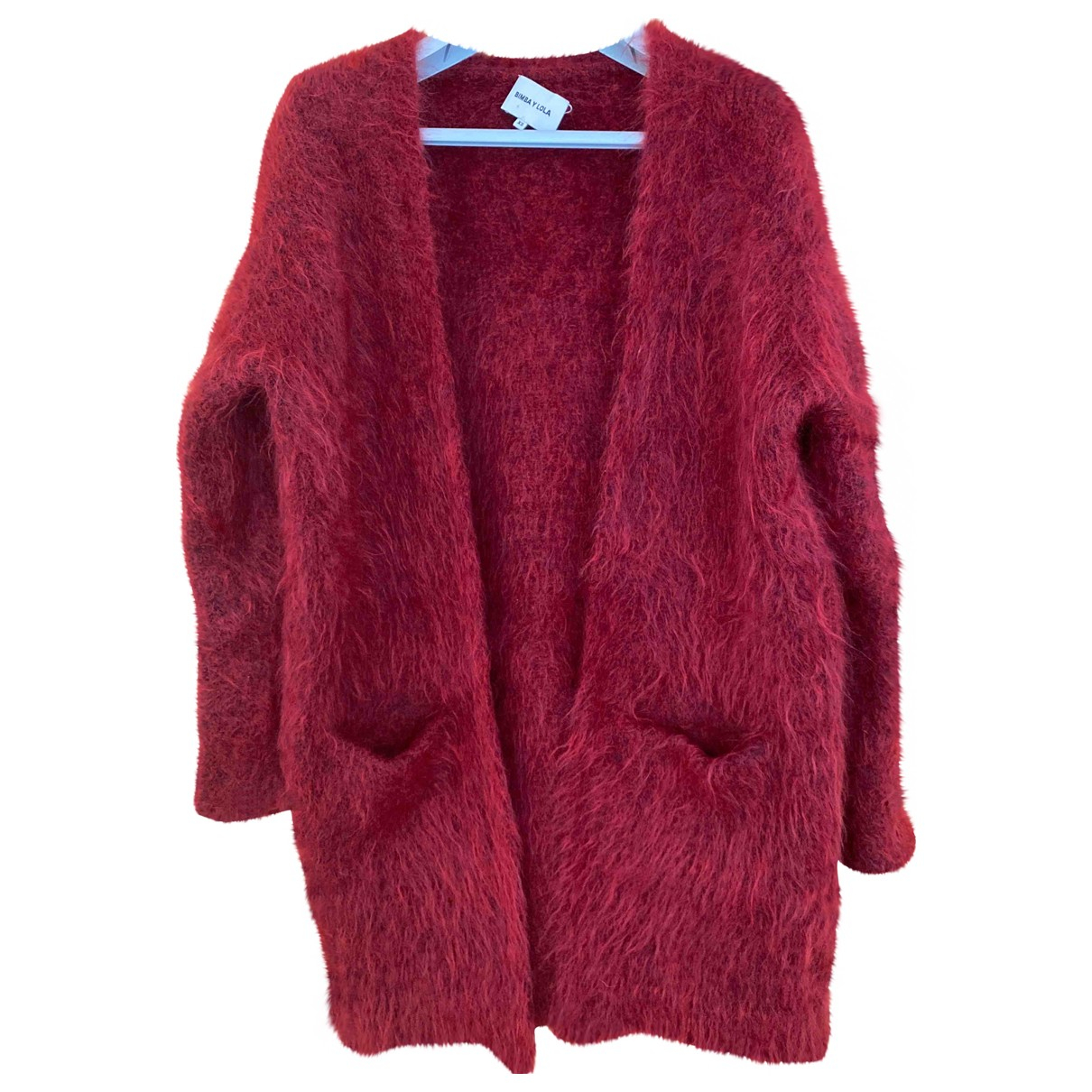 Bimba Y Lola N Red Wool Knitwear for Women XS International
