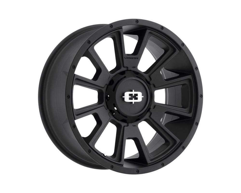 Vision Rebel Satin Black Wheel 20x10 6x135 -25