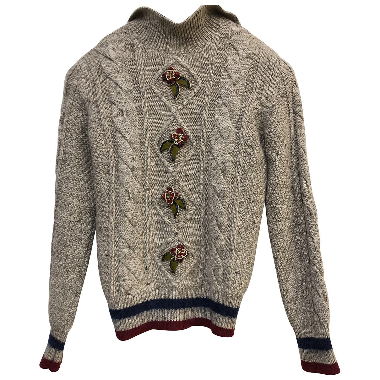 Chanel \N Beige Cashmere Knitwear for Women 36 FR