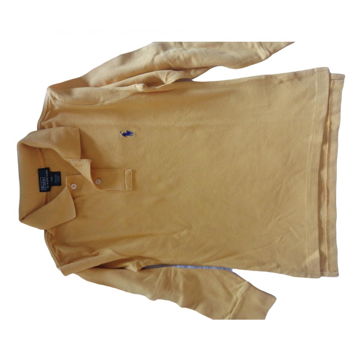 Camisetas en Algodon Amarillo Polo Ralph Lauren