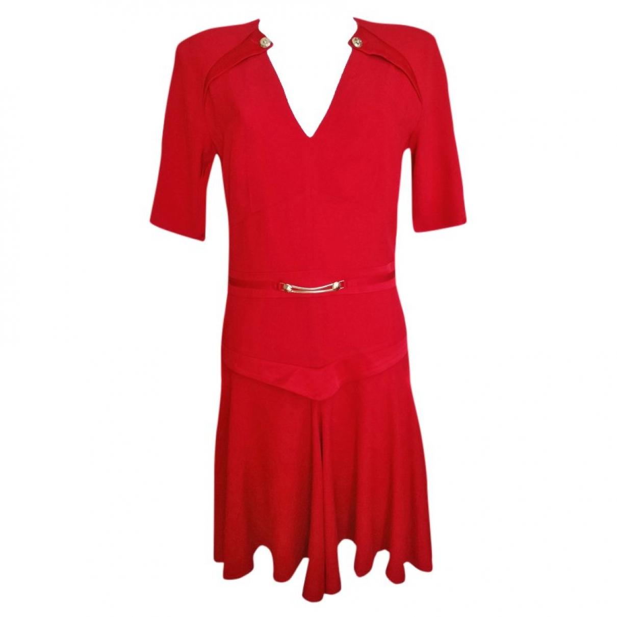Versace Jeans \N Red dress for Women 44 IT