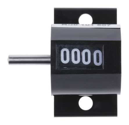 Hengstler Mechanical Counter  0 101 507, Revolution 4 digits Top Coming