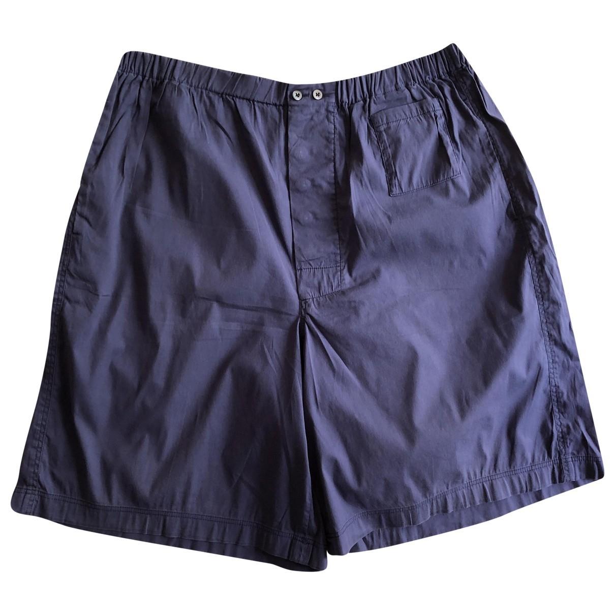 Prada \N Navy Cotton Shorts for Men 48 IT