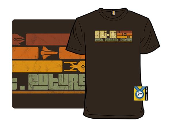 Retro Sci-fi T Shirt