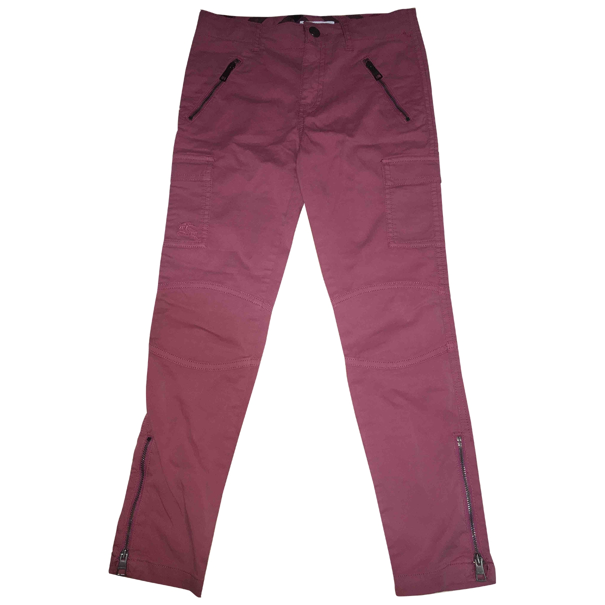 Burberry \N Pink Cotton Trousers for Kids 10 years - up to 142cm FR