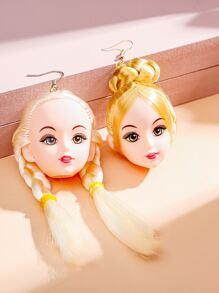 Cartoon Drop Earrings