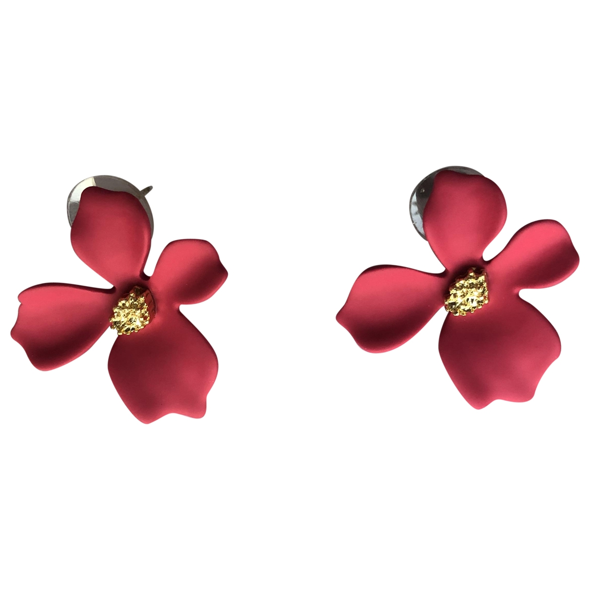 Atelier Parisien - Boucles doreilles   pour femme en metal - rose