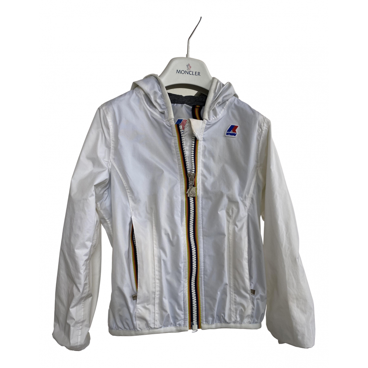 K-way N White jacket & coat for Kids 4 years - up to 102cm FR