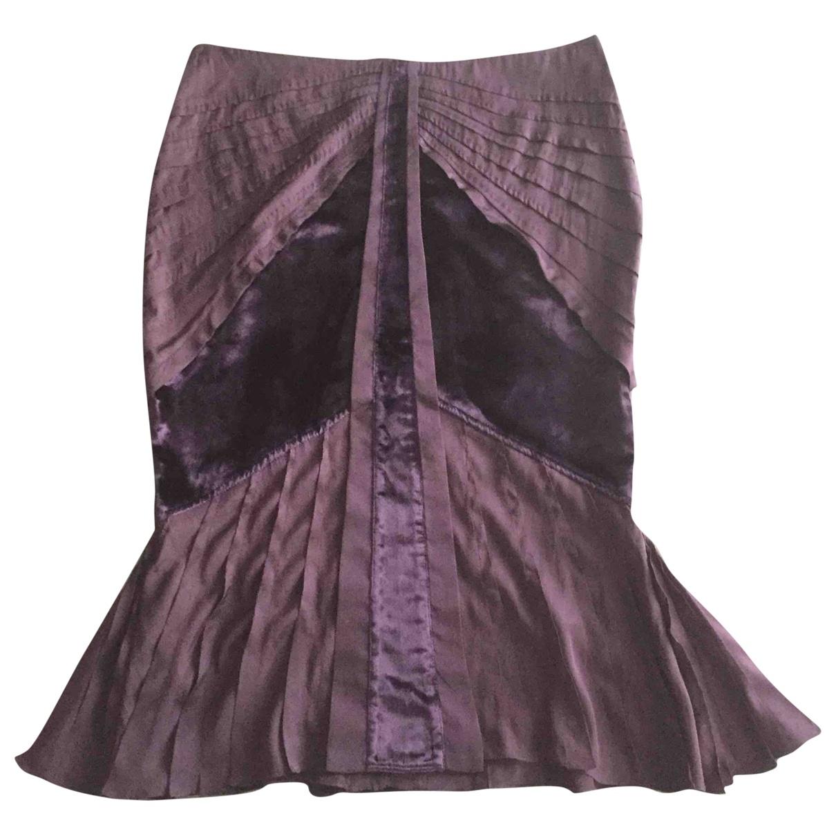 Gucci \N Purple Silk skirt for Women 40 IT