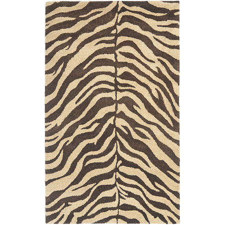 Safavieh Norman Animal Print Hand Tufted Rug, One Size , Brown