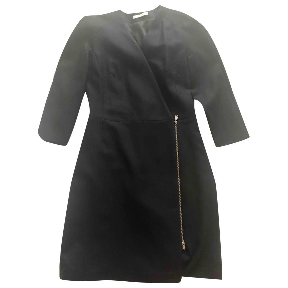 Zapa \N Kleid in  Blau Wolle