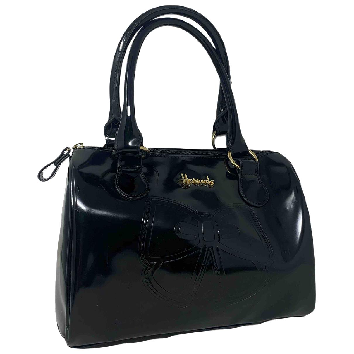 Harrods \N Black Patent leather handbag for Women \N