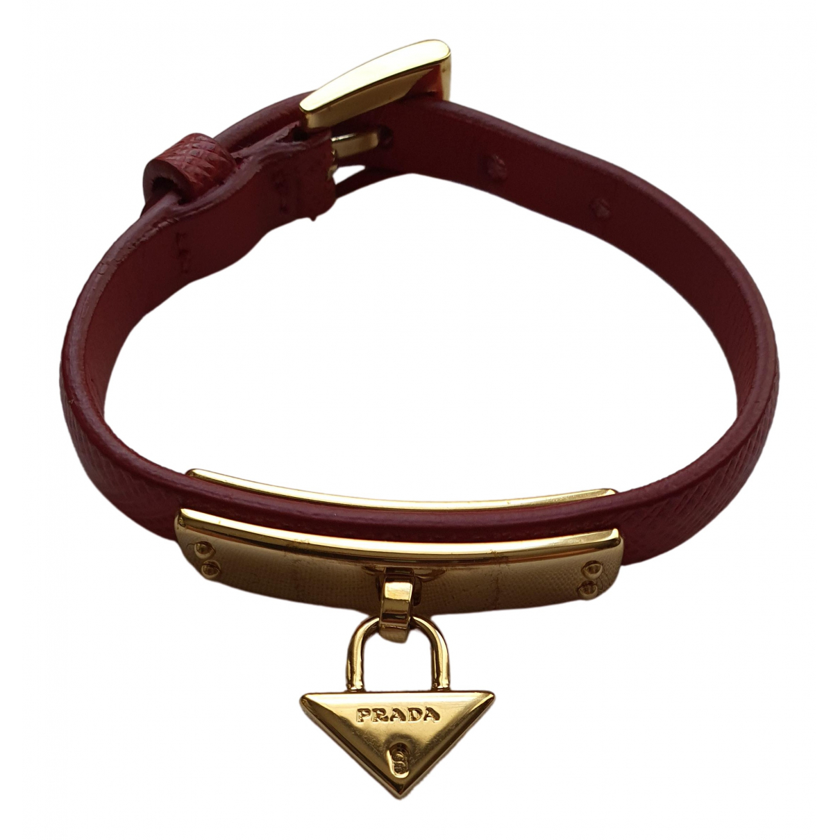 Prada \N Armband in Leder