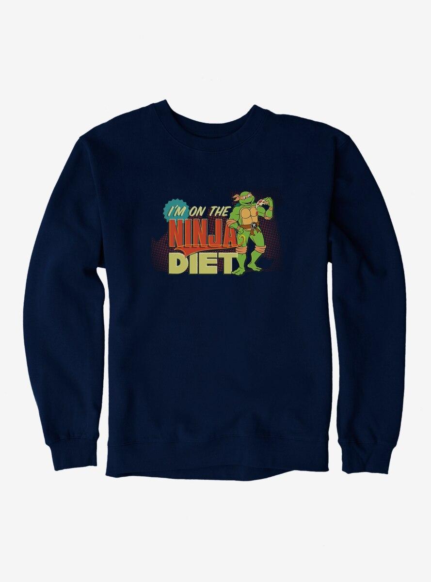 Teenage Mutant Ninja Turtles Michelangelo On The Ninja Diet Sweatshirt