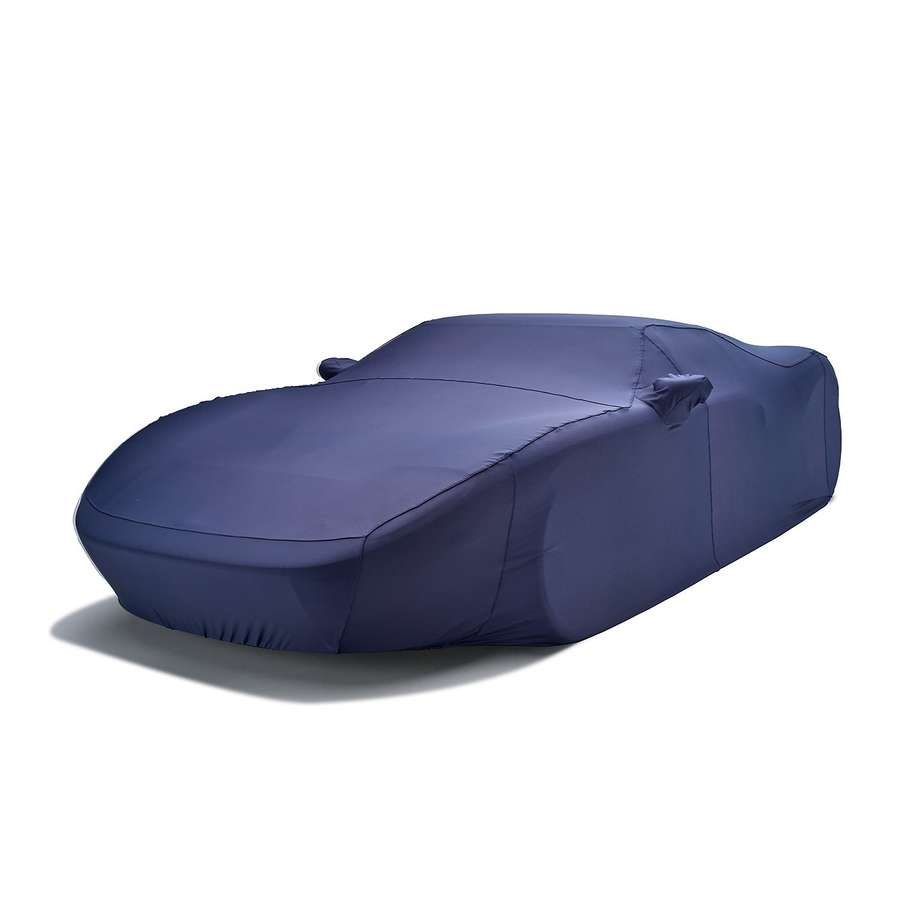 Covercraft FF17418FD Form-Fit Custom Car Cover Metallic Dark Blue Audi