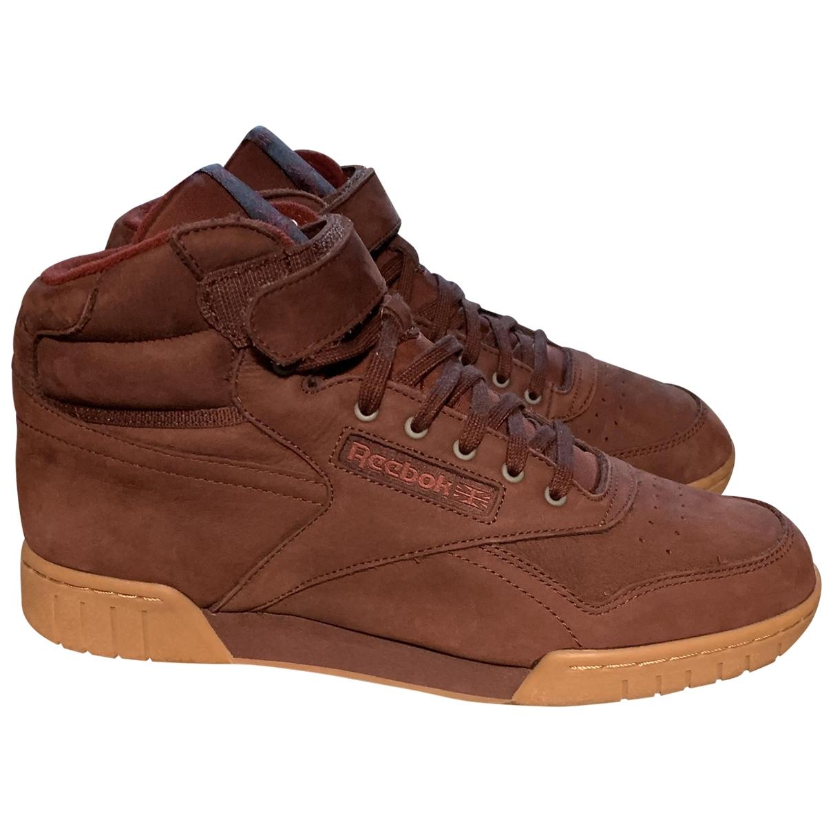 Reebok \N Sneakers in Veloursleder