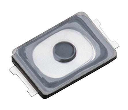 Panasonic IP67 Push Plate Tactile Switch, Single Pole Single Throw (SPST) 20 mA @ 15 V dc 0.85 (Dia.)mm Surface Mount (10)