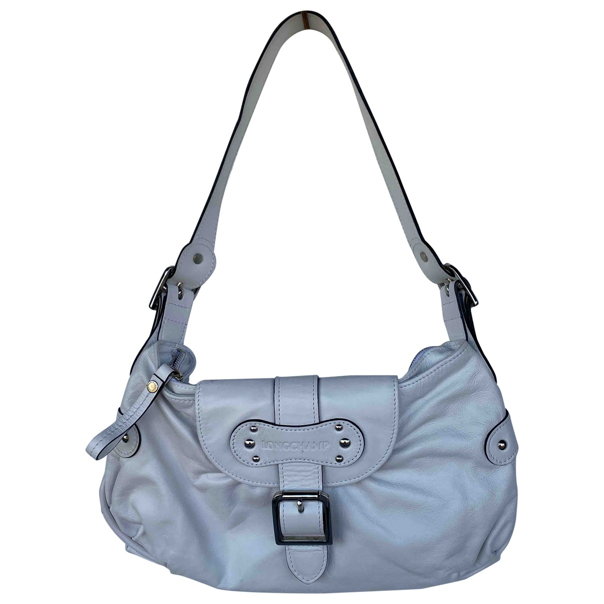 Longchamp Idole White Leather handbag for Women \N
