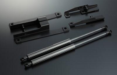 Varis BDMI-002 Bonnet Damper Varis BDMI-002 Carbon Mitsubishi EVO X CZ4A 08-15