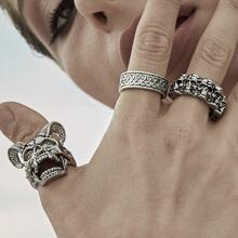 Skeleton Ring 3pcs
