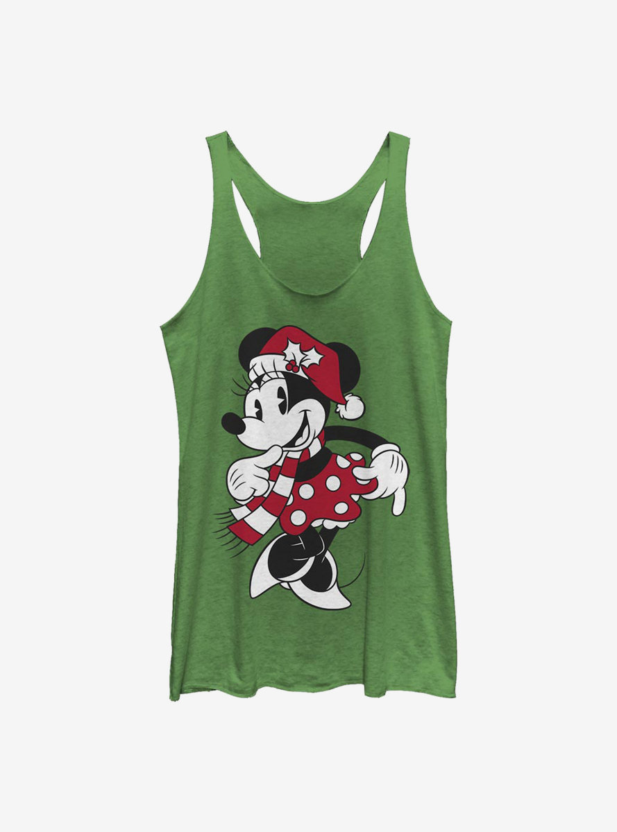 Disney Minnie Mouse Classic Hat Womens Tank Top