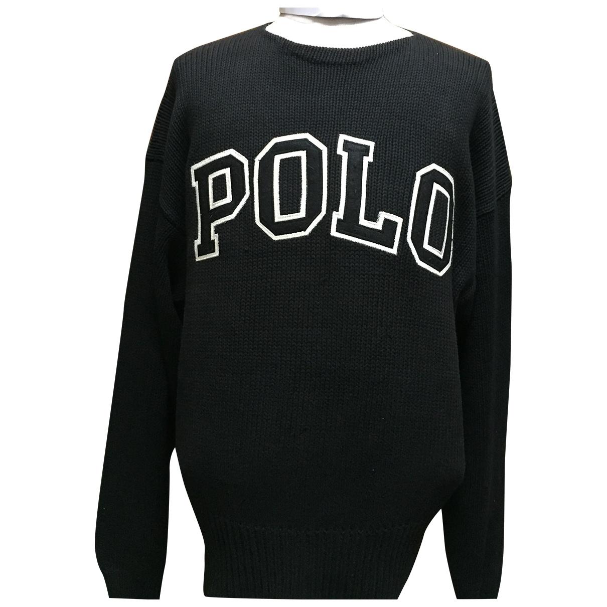 Polo Ralph Lauren \N Pullover in  Schwarz Baumwolle