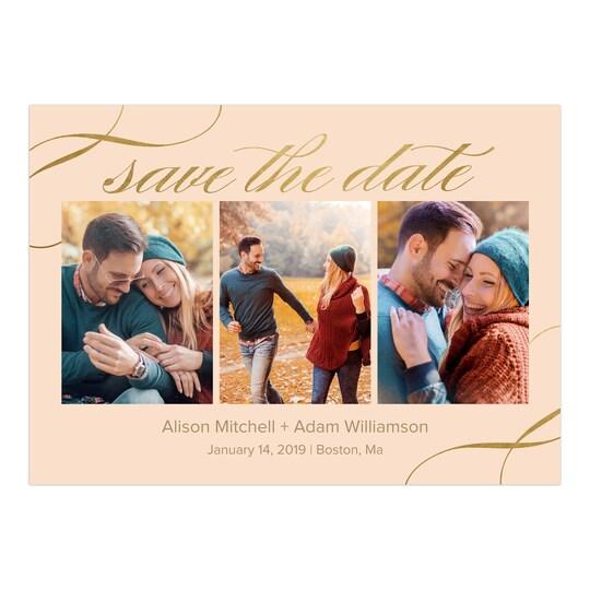 Gartner Studios® Personalized Elegant Date Flat Foil Wedding Save The Date   Michaels®