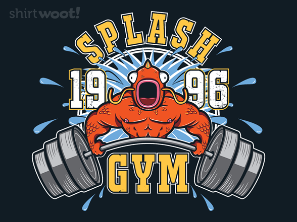Splash Gym T Shirt