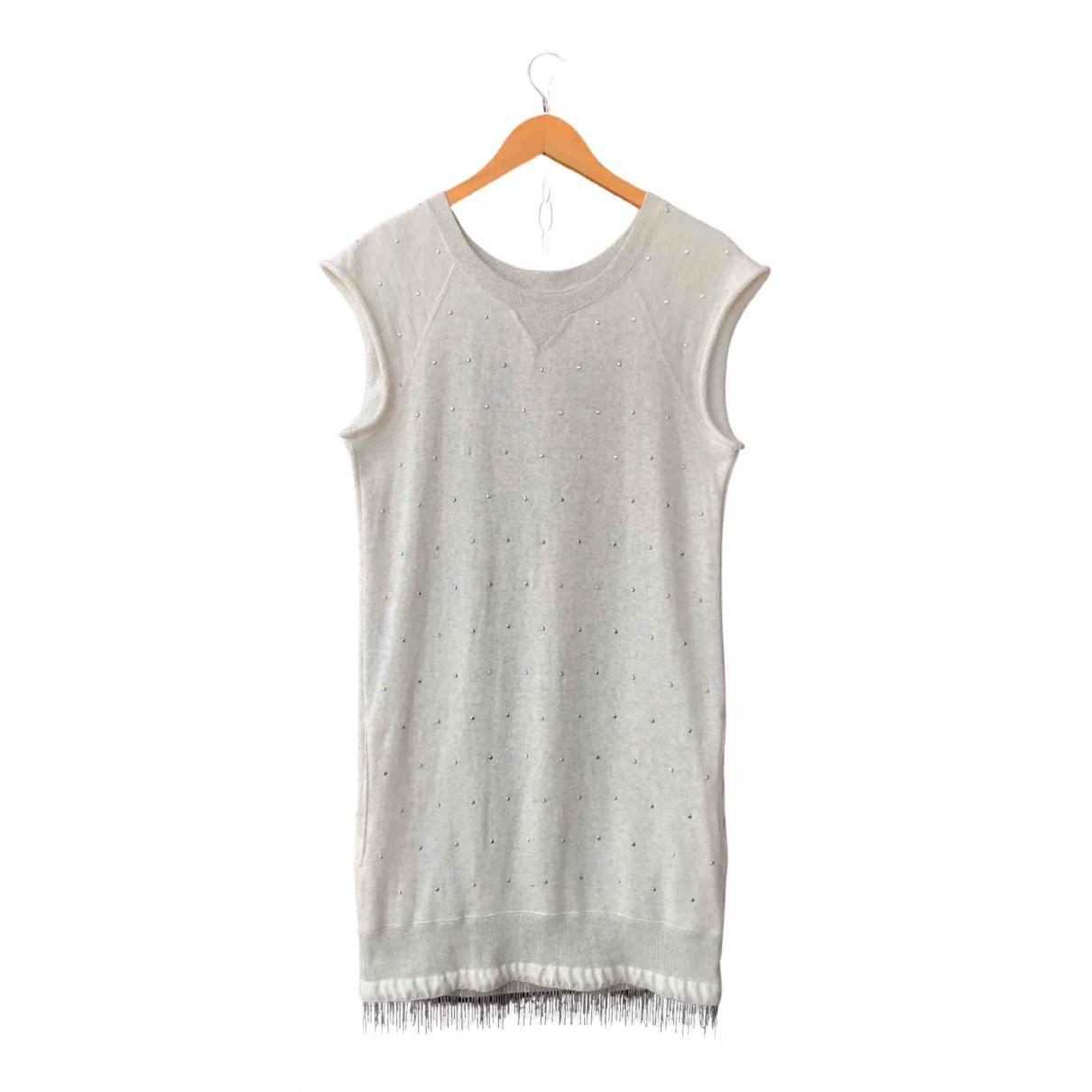 Sacai \N Grey Cotton dress for Women 4 0-5