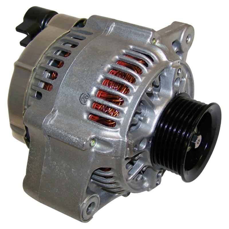 Crown Automotive 56026811 Jeep Replacement Alternator for 94/96 XJ Cherokee (Europe) w/ 2.5L, 4.0L Engines Jeep Cherokee 1994-1996