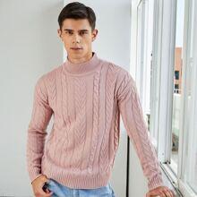 Strick Pullover mit Drop Shoulder