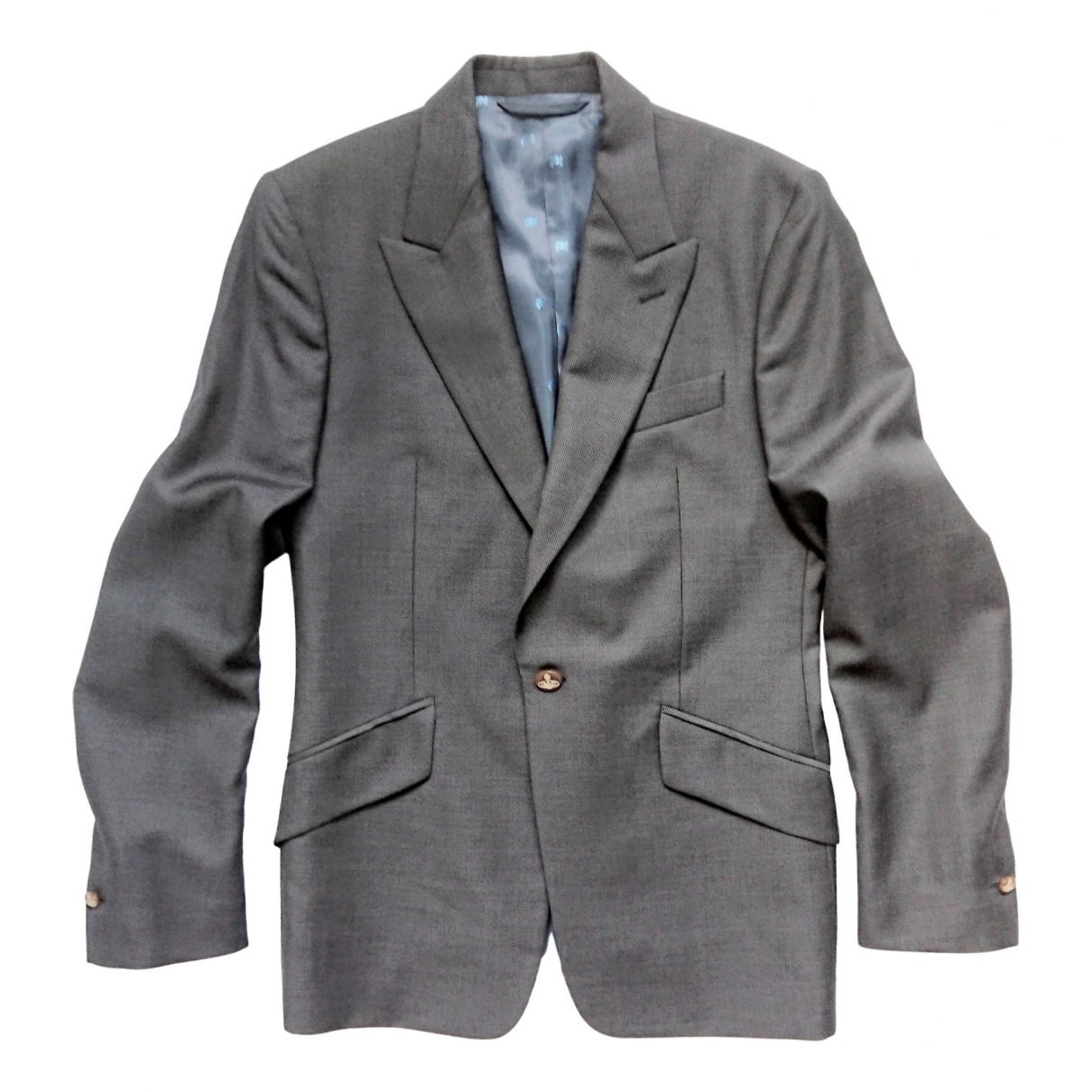 Vivienne Westwood \N Navy Wool jacket  for Men 48 IT