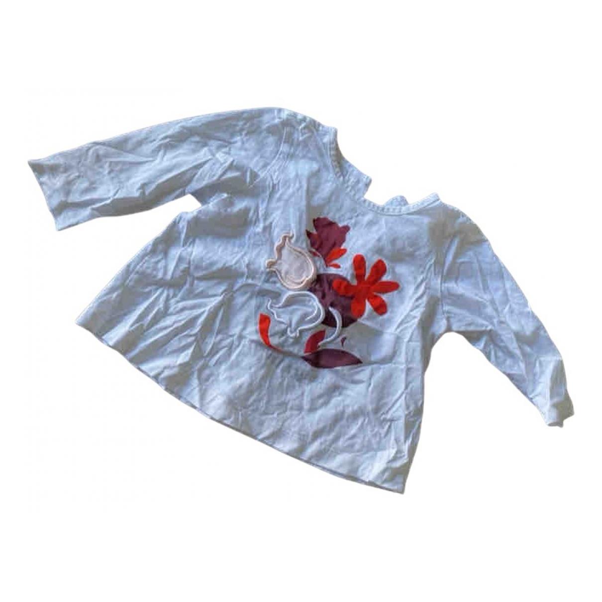 Baby Dior - Top   pour enfant en coton - blanc