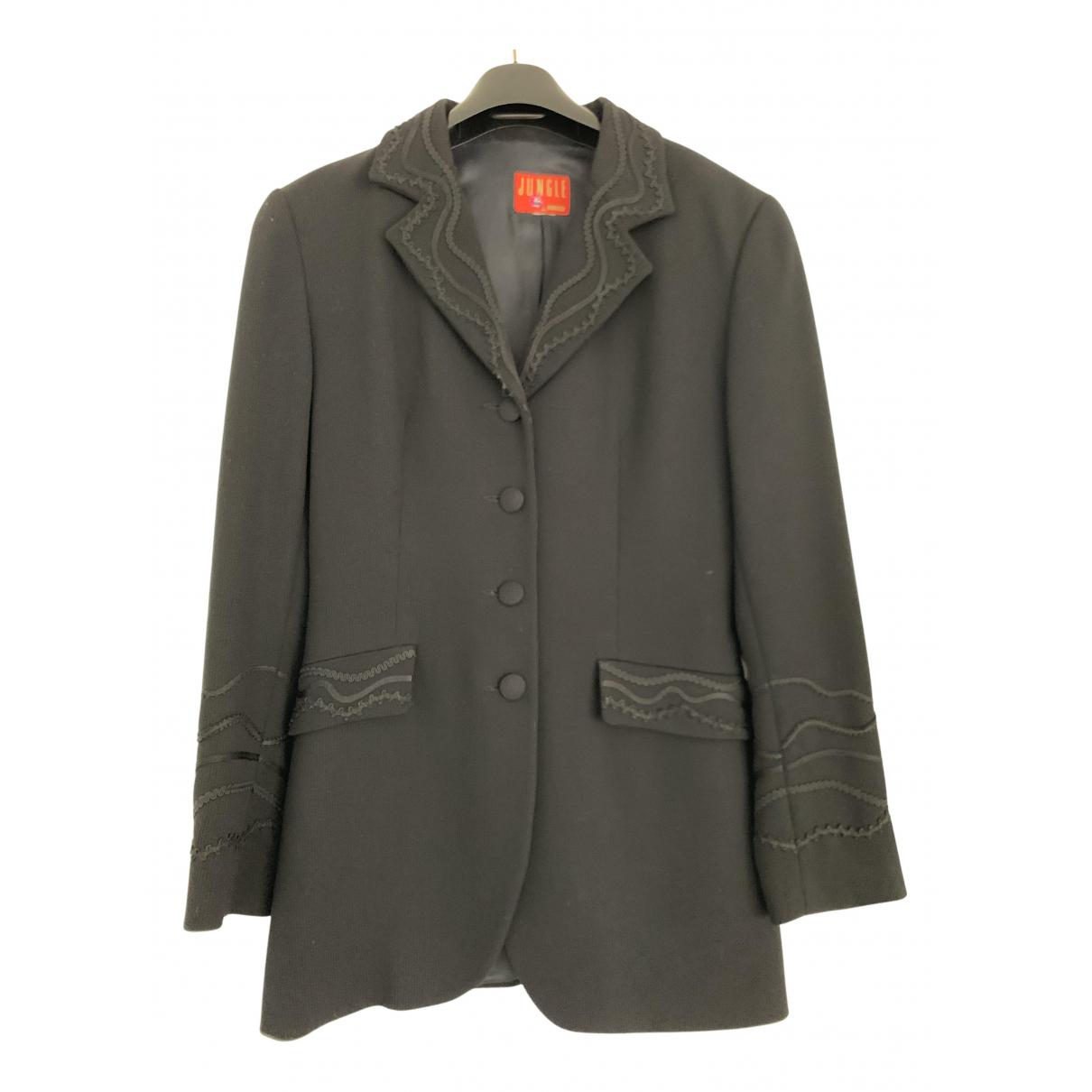 Kenzo - Veste   pour femme en laine - noir