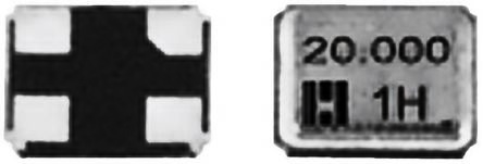 Hosonic 16MHz Crystal ±30ppm SMD 4-Pin 2.5 x 2 x 0.55mm (5)