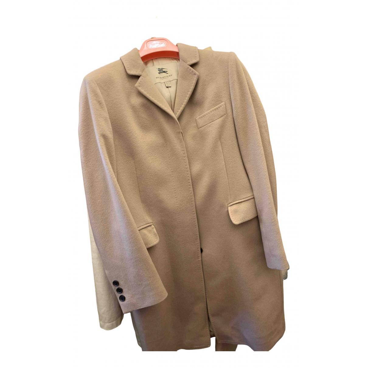 Burberry N Camel Wool coat for Women 8 UK