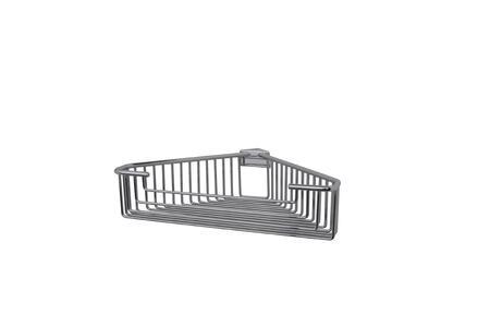 Essentials 53442ES Detachable Corner Wire Large Round Rungs Soap Basket 3