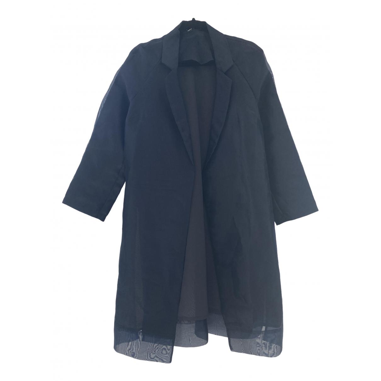 Topshop - Manteau   pour femme - bleu