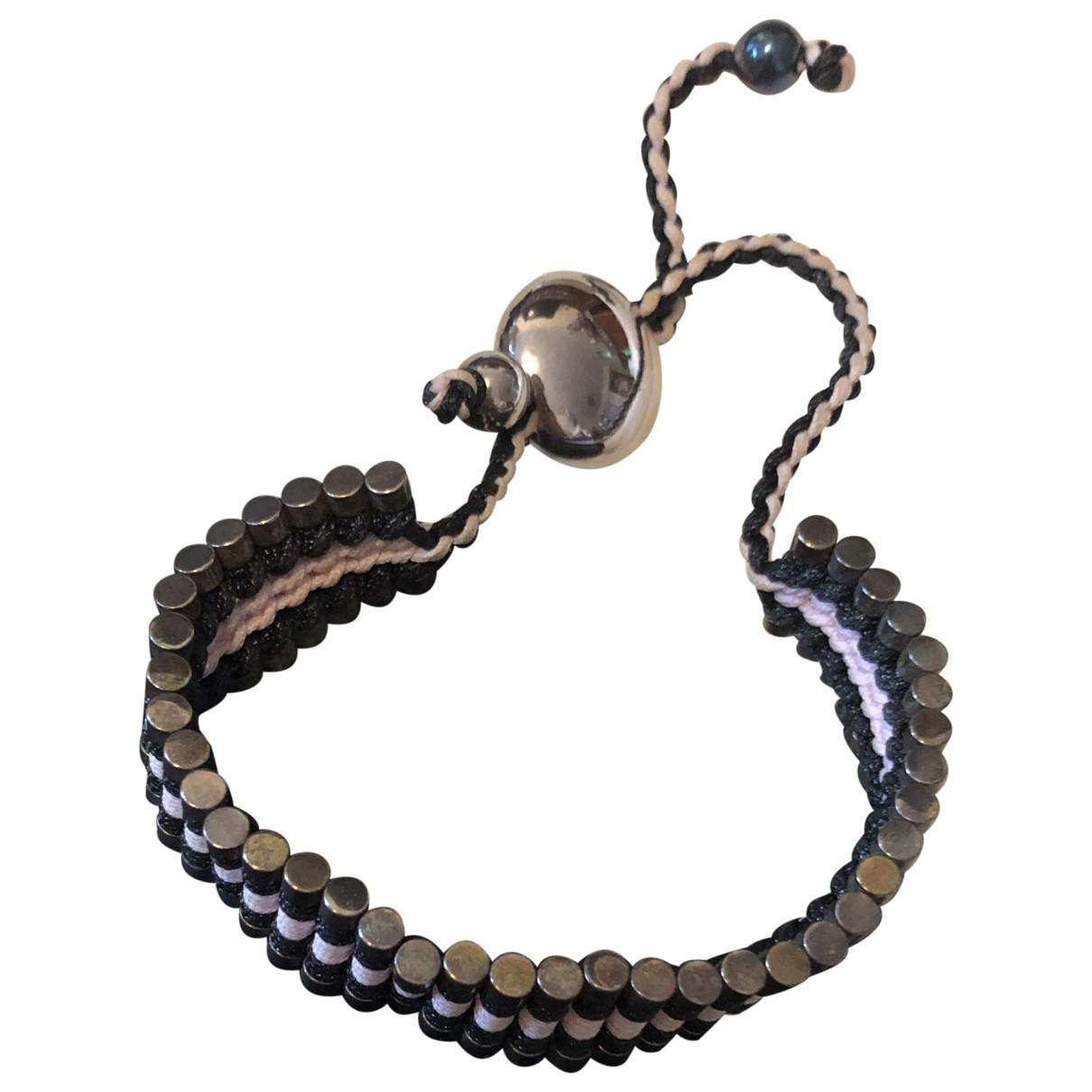 Links Of London - Bracelet   pour femme en argent - noir