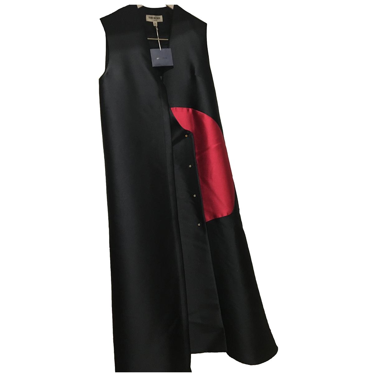 Eudon Choi \N Kleid in  Schwarz Polyester