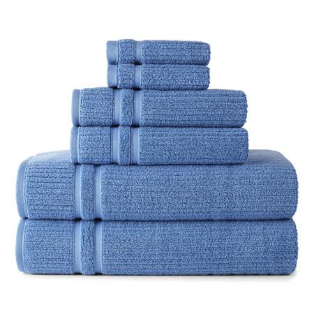 Liz Claiborne Classics Bath Towel, One Size , Blue