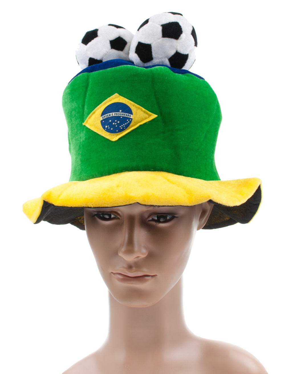 Hut Brasilien Farbe: gruen