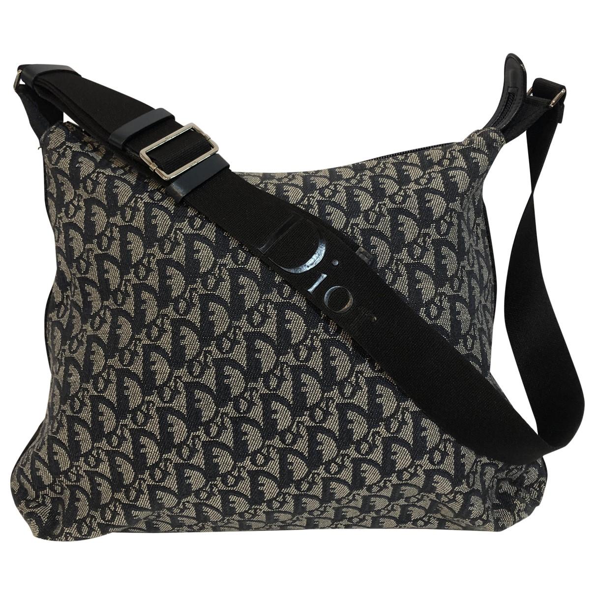 Dior \N Blue Cloth handbag for Women \N