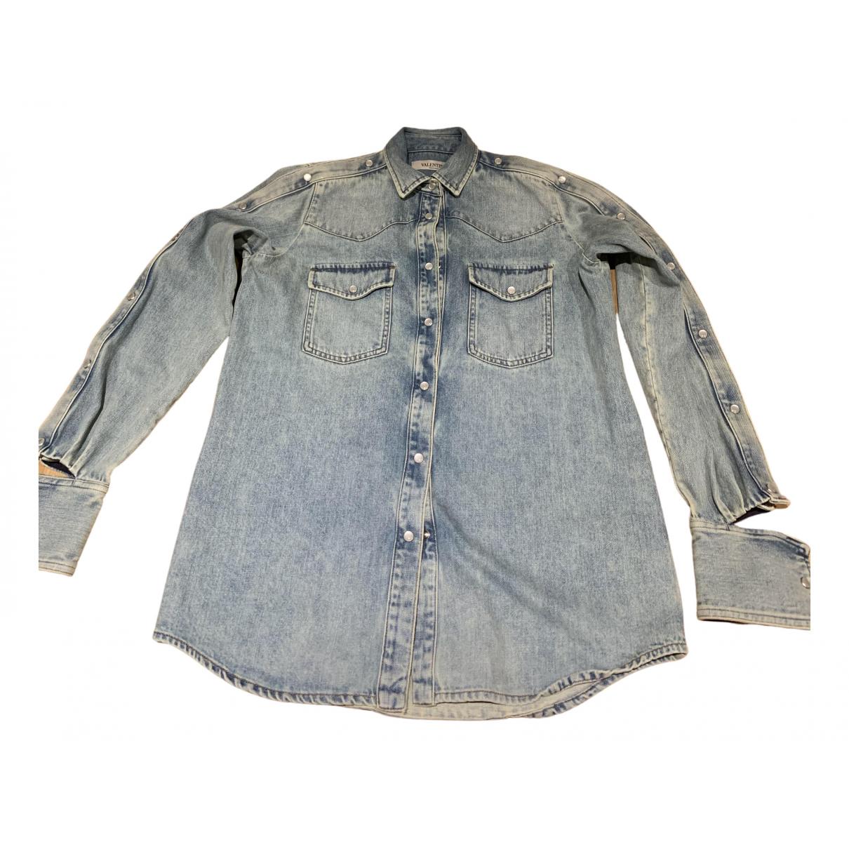 Valentino Garavani N Blue Denim - Jeans  top for Women 40 IT