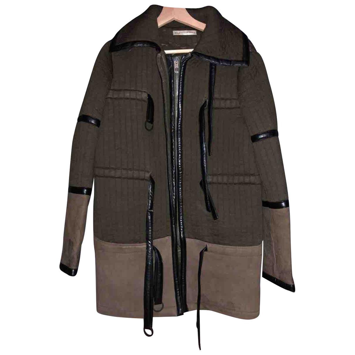 Balenciaga \N Khaki Cashmere coat for Women 36 FR